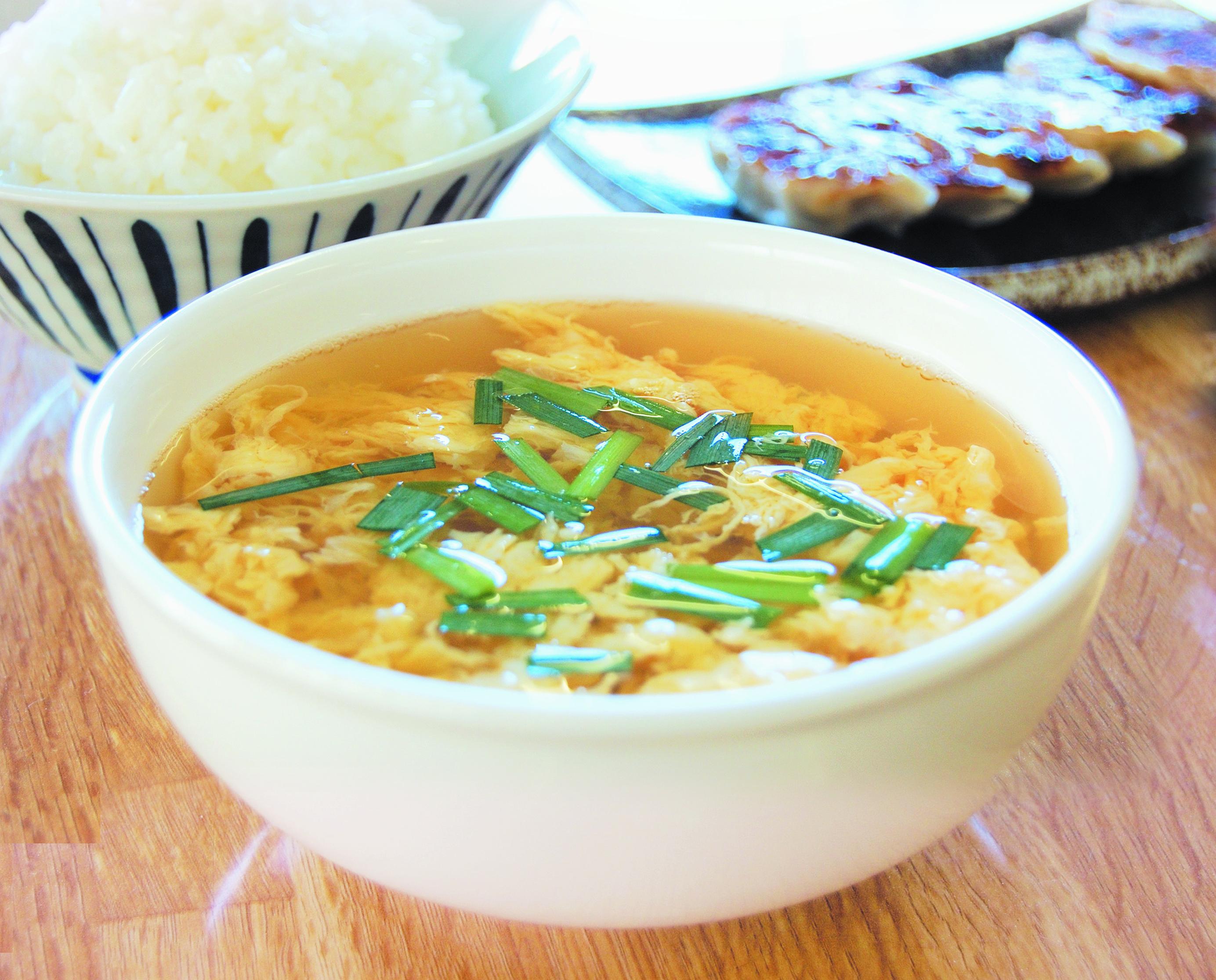 ●たまごスープ